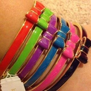 TWO Kate Spade bangles with duster!!!!!!!